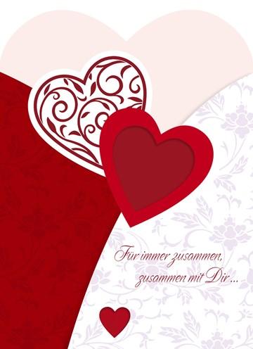 Valentinstagskarte - Valentinstag Grußkarte - A65BA9AF-3ED3-4AC4-801B-3B7C93CF52BE