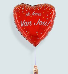 Ballon Liefde Ik Hou van Jou