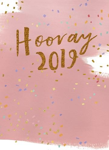nieuwjaarskaart - nieuwjaarskaart-hooray-2018