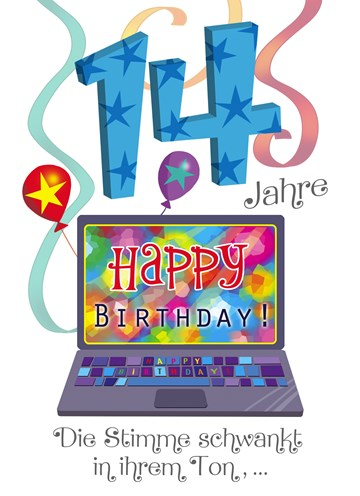 Geburtstagskarte Lebensalter - F3639492-8F5D-4E86-8233-425513CBBC83
