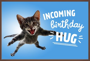 - Chocoladekaart-verjaardag-man-vrouw-tiener-Incoming-birthday-hug-kat