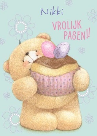 - vrolijk-pasen-kaart-met-paas-cupcake-forever-friends