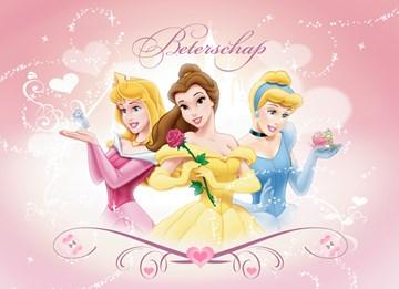 Disney kaart - belle-zegt-beterschap
