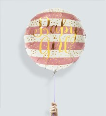 Ballon Baby Girl Stripes