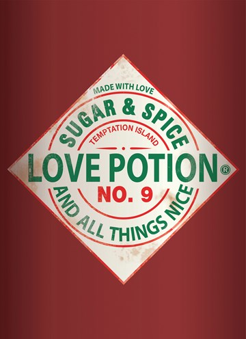 Boomerang kaart - love-potion