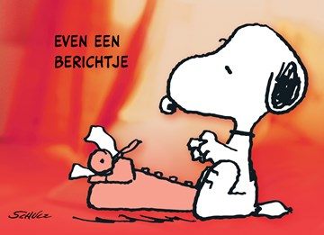 Snoopy kaart - B4BC5DD3-C667-43EB-BB55-9986D09297A0