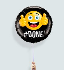 Ballon Emoji Geslaagd
