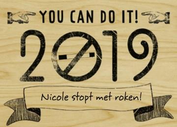 nieuwjaarskaart - stoppen-met-roken