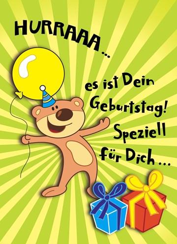 Geburtstagskarte Kind Junge - 30DE8251-4AFE-4EEB-AC62-929302DC1E61