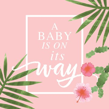 - botanical-kaart-a-baby-is-on-its-way