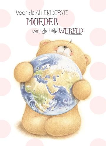 - forever-friends-kaart-jij-bent-de-allerliefste-moeder-van-de-hele-wereld