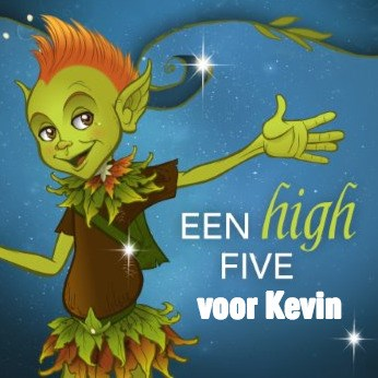 Felicitatiekaart - high-five-van-een-bosgeest