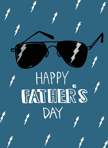 - Vaderdagkaart-Klassiek-Happy-Father-s-Day-Zonnebril