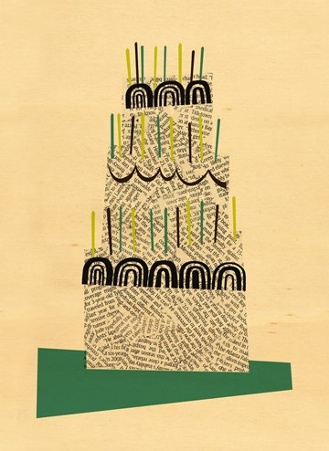 Verjaardagskaart tienerjongens - houten-kaart-verjaardag-man-taart-blanco