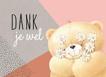 Bedankt kaart - forever-friends-dankjewel
