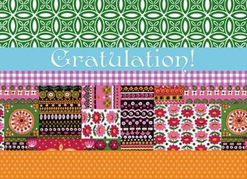 Glückwunschkarte - Gratulationskarte - A67FEBA5-1C08-4221-B656-2932A63ED922