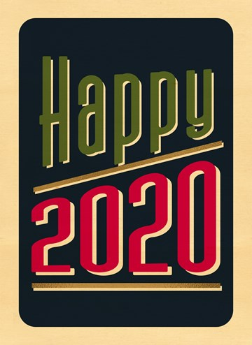 - happy-2020-wood