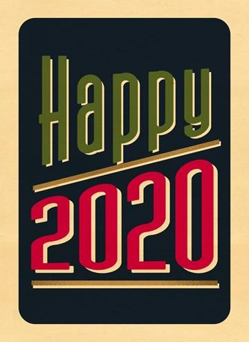 - happy-2020-wood