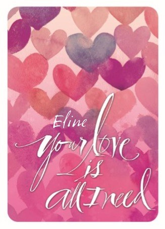 Valentinstagskarte - Valentinstag Grußkarte - A8204626-B8E4-4572-83F2-CDCF5799B9FA