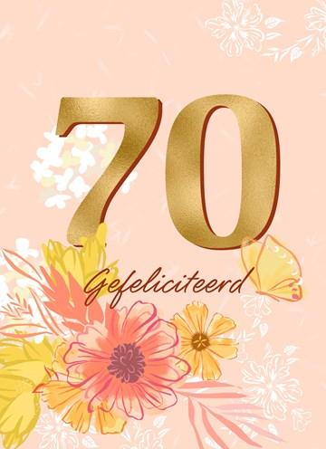 - Verjaardagskaart-70-met-bloemen