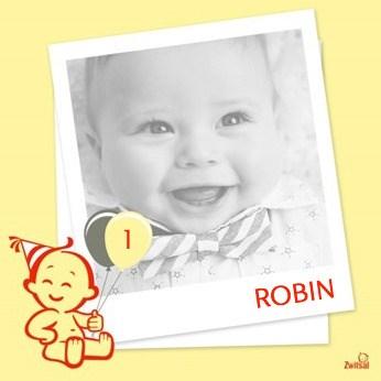 Verjaardagskaarten leeftijd - zwitsal-1-jaar-fotokaart