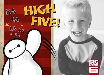 Disney kaart - give-me-a-high-five
