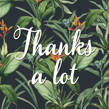 Bedankt kaart - CLA-a-flower-to-thank-you