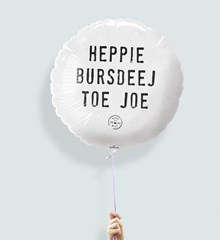 Ballon Heppie Bursdeej
