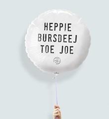 Ballon Heppie Bursdeej