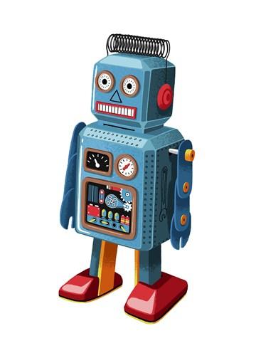 - blauwe-robot