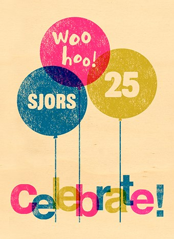 verjaardagskaart meisjes - houten-kaart-wooho-celebrate