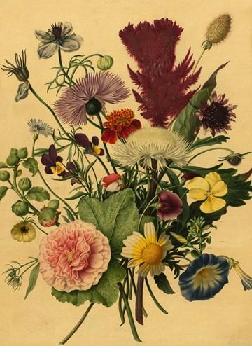 - houten-kaart-bloemen-schilderij
