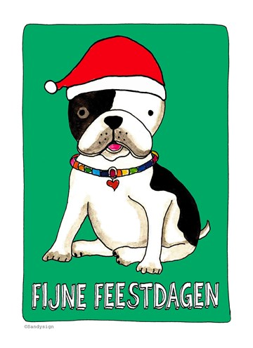 - kerstbulldog
