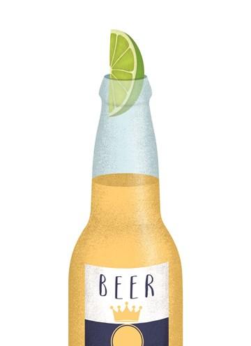- bier-met-limoen