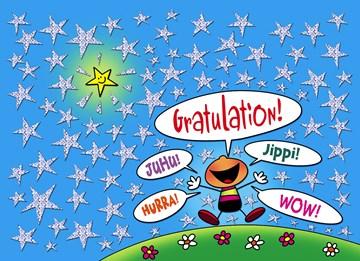 Glückwunschkarte - Gratulationskarte - 209BB277-5613-45B9-8040-5D1844DDF120