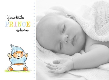 - fotokaart-liggend-bobbi-beer-your-little-prince-is-born