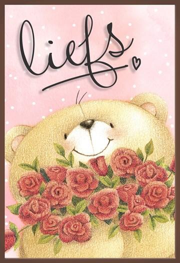 valentijnskaart - Valentijnskaart-chocolade-Forever-Friends-liefs