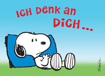 Snoopy Karte - DEDEDB72-6B0B-4D6C-A870-641A9ECE5AB4