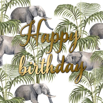 verjaardagskaart vrouw - CLA-happy-birthday-with-these-elephants