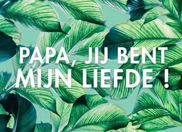 - Vaderdagkaart-lief-Papa-jij-bent-mijn-liefde