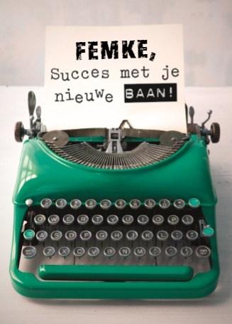 - typemachine-bericht-voor-jouw