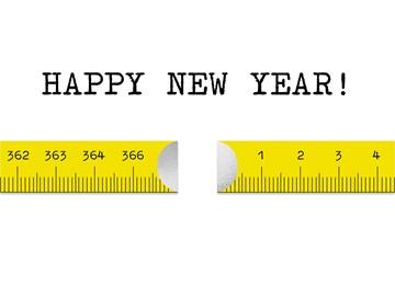 - nieuwjaarskaart-zakelijk-liniaal-happy-newyear