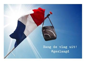 - vlag-buiten-hangen