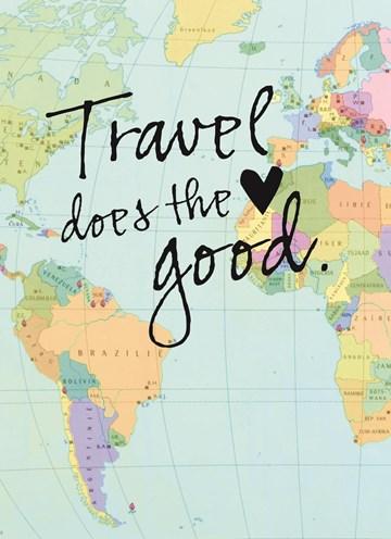 Reiskaart - reizen-kaart-met-de-tekst-travel-does-the-heart-good