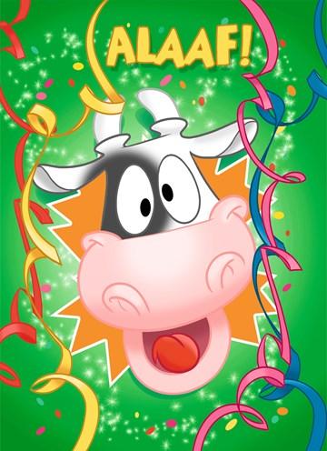 carnavalskaarten - carnavalskaart-alaaf-blije-koe