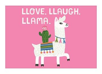 - llove-llaugh-llama