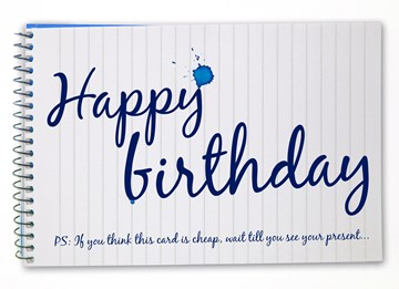 Boomerang kaart - happy-birthday-in-schrift