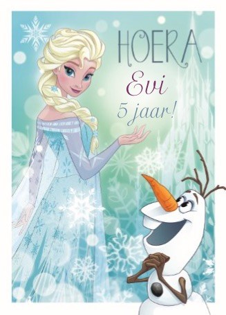 Vaak Kaarten Disney - Frozen   Hallmark &GP92