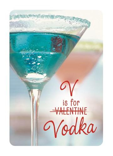 Valentijnskaart - V-is-for-vodka
