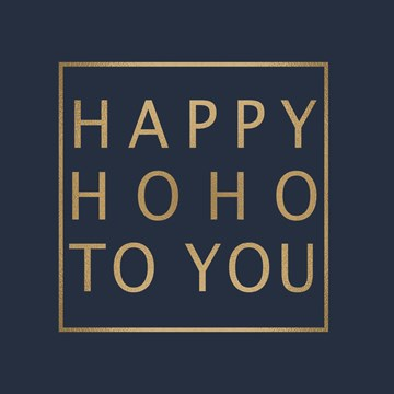 Kerstkaart - kerst-top-10-happy-ho-ho-to-you